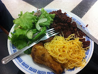 Waakye is a popular easy to make Ghanaian dish of rice and beans.
