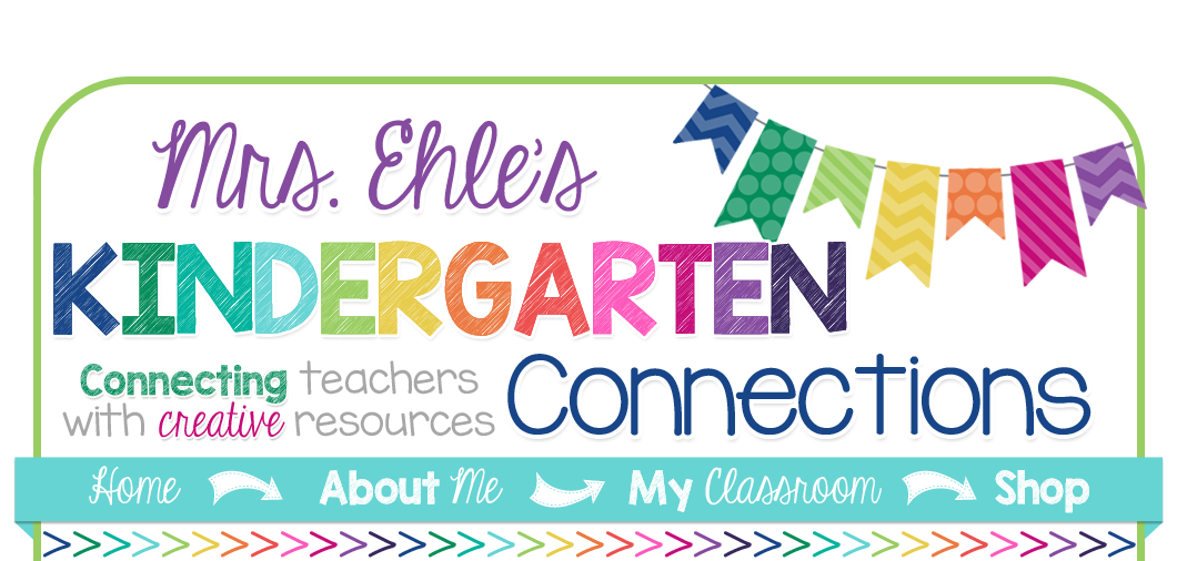 Mrs. Ehle's Kindergarten Connections