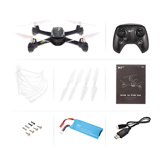 Spesifikasi Drone Hubsan H216A X4 Desire - OmahDrones