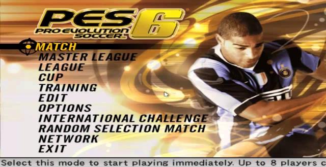 شرح تحميل لعبة بيس 6 مجانا برابط مباشر   download Pro Evolution Soccer 2006