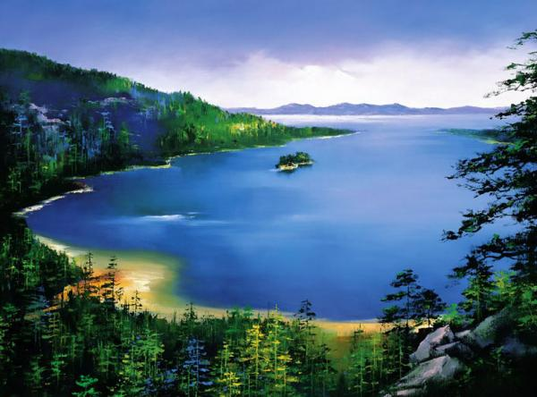 """Beautiful Landscape Paintings By """"HONG LEUNG"""""""