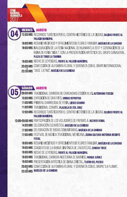programa feria huamantla 2017