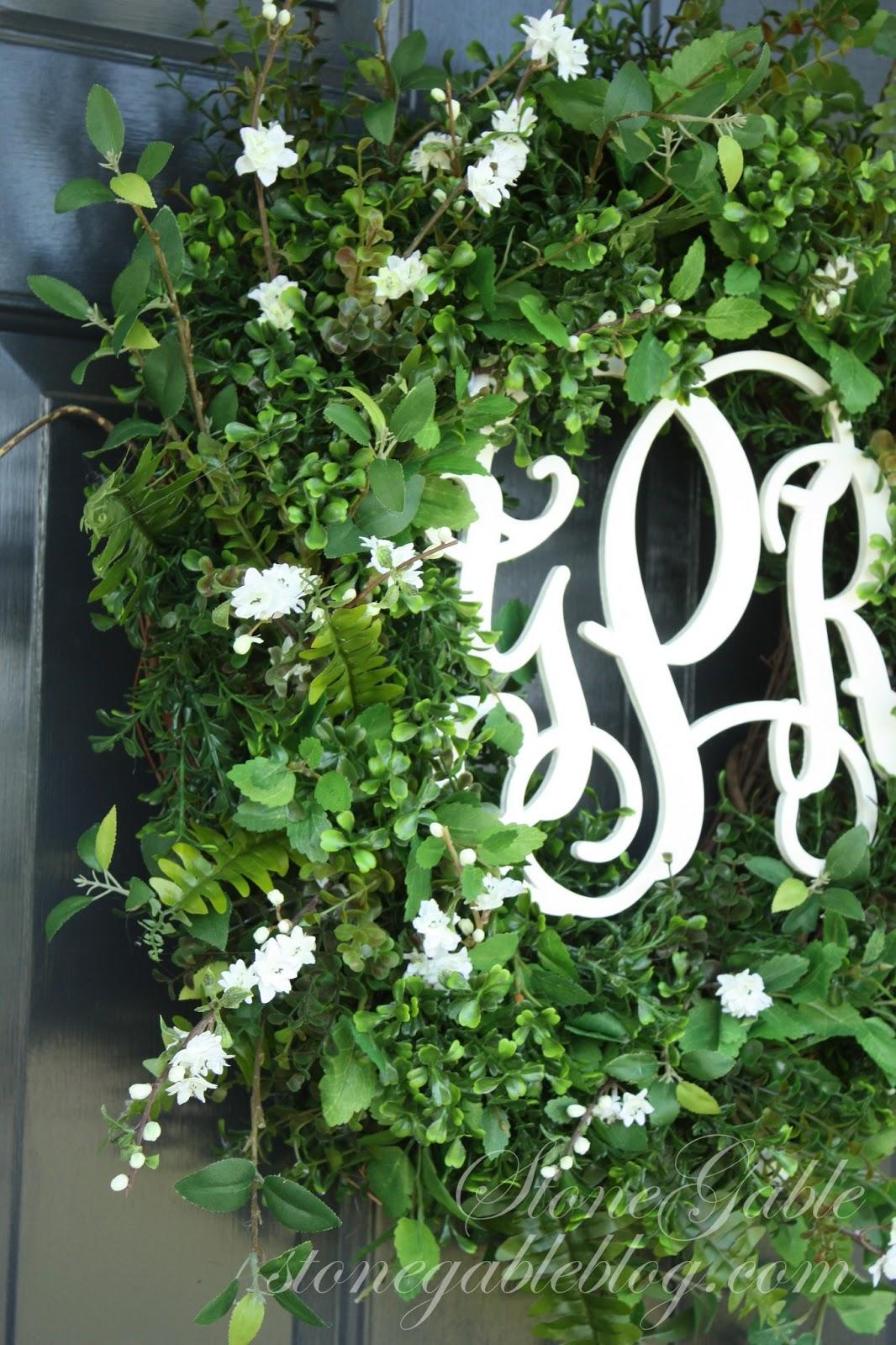 Summer Front Door Wreath: FRONT DOOR WREATH~ SUMMER 2013