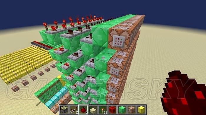 當個創世神 (Minecraft) 1.8版使用Fill指令製作加法器圖文教學 | 娛樂計程車