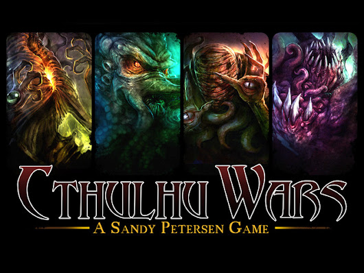 Cthulhu Wars gameplay overview by Sandy Petersen