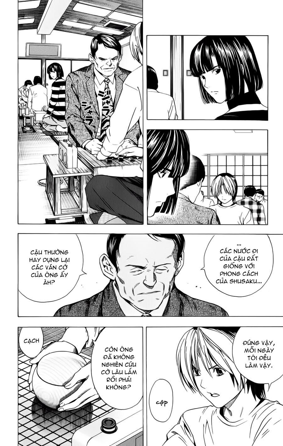 Hikaru No Go hikaru no go chap 153 trang 17