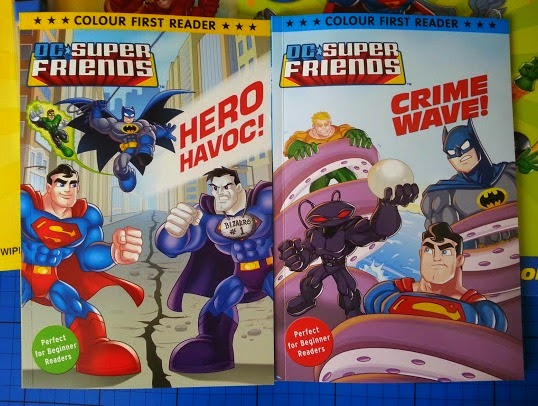 Early Reader First Book DC Super Friends Heroes