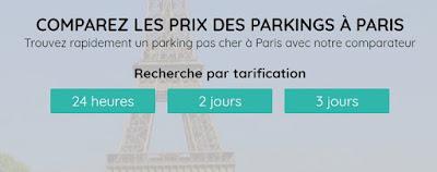 parking paris 16 pas cher