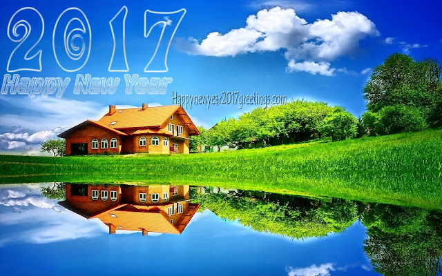 Happy New Year 2017 Nature Background Wallpapers For Desktop