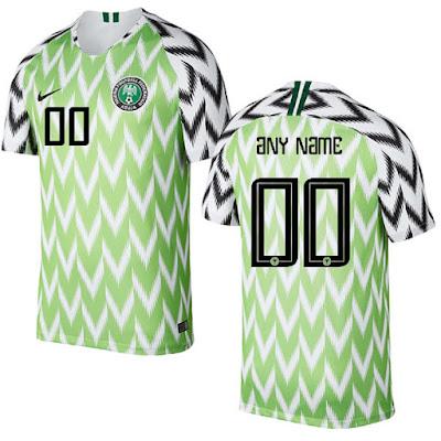 Jersey Nigeria New 2018