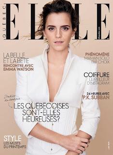 Emma Watson covers ELLE - Québec (April 2017)
