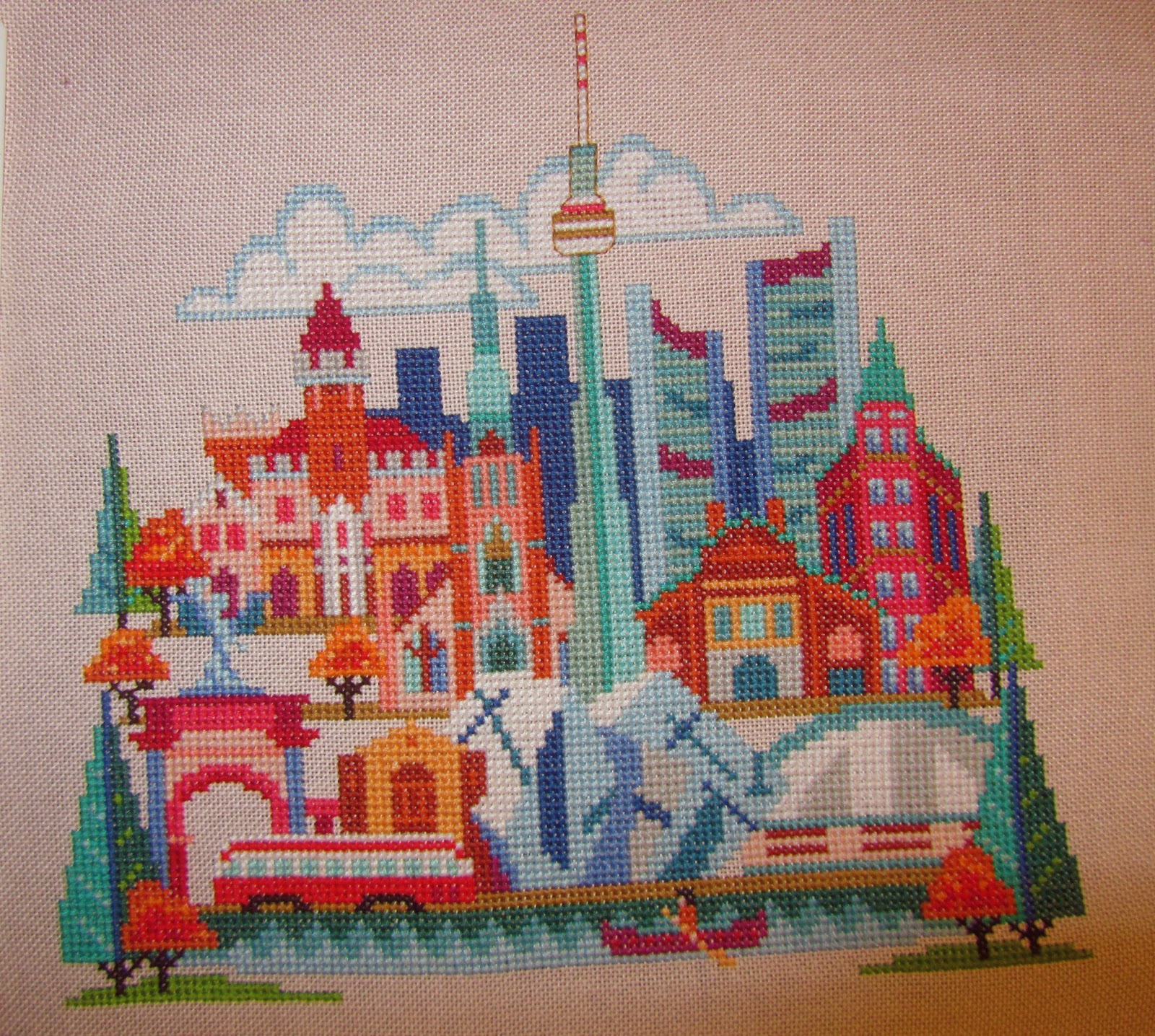 Art from the distant past: cross stitch for beginners