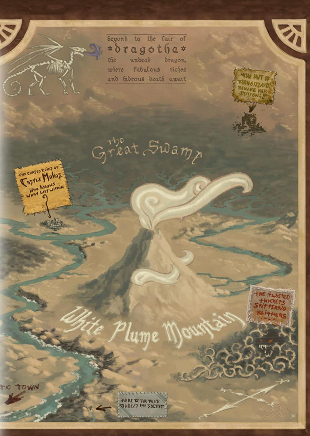 Cover of White Plume Mountain 5e