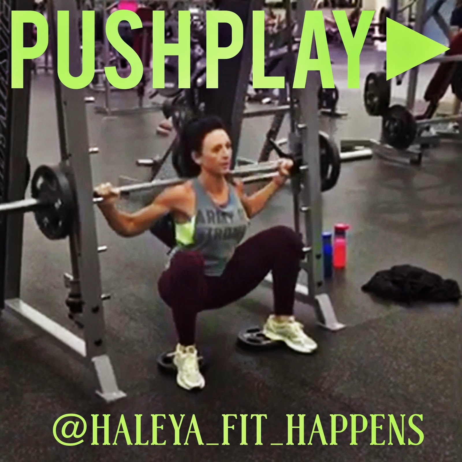 03849aafe9f0 Fit Happens  Squats with plates under heels