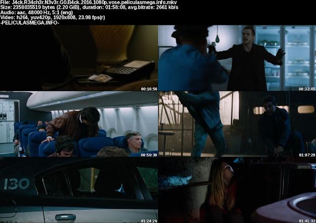 Descargar Jack Reacher: Never Go Back Subtitulado por MEGA.