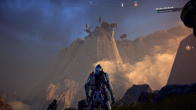 Screenshot of Kadara Port from Mass Effect Andromeda