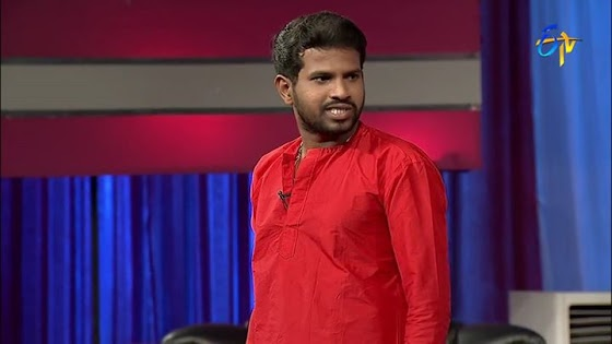 Hyper aadhi and Raising Raju performance in jabardasth comedy show Etv