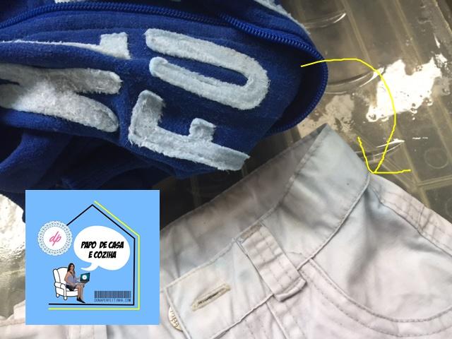 Como tirar mancha de roupa colorida em roupa clara