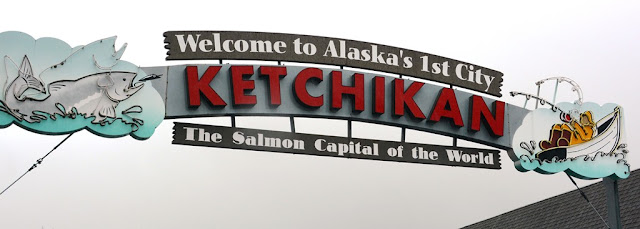 Ketchikan Alaska welcome