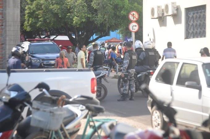 Agência dos correios de Chapadinha é assaltada, na fuga, bandidos deixam moto