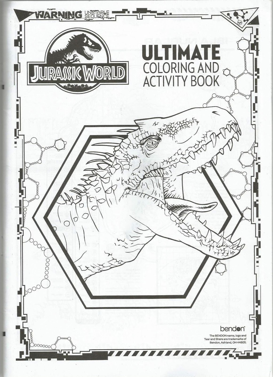 Jurassic Park Saga: A Cinematic Universe: Bendon Jurassic World ...