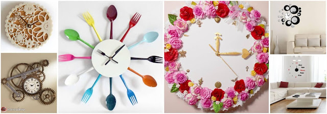20 Unique Wall Clocks For Your Home Walls