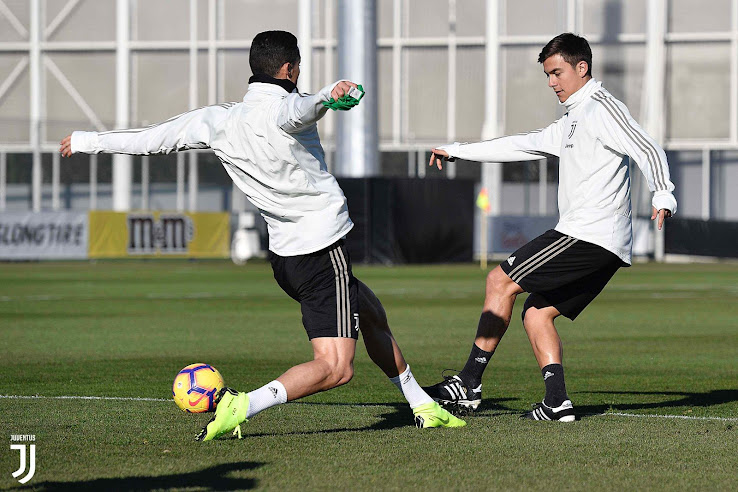 ad1053e41b8 Dybala Trains in Adidas Copa 70 Primeknit Nike CR7 Chapter 7 Red - The  Final Chapter