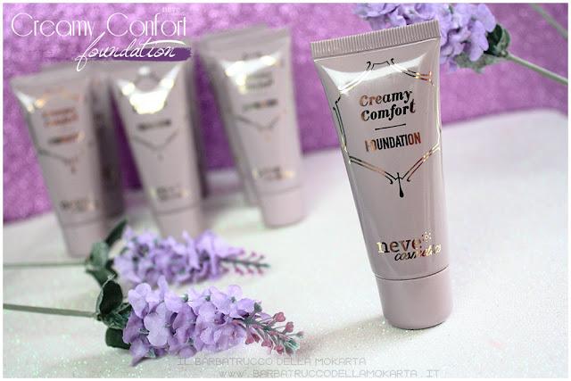 creamy confort foundation Fondotinta Neve Cosmetics pareri