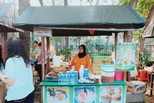 kulineran di eco market ancol
