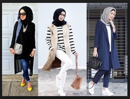 Style pakaian hijab anak muda