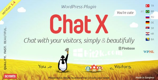 Chat X 2.2.3 WordPress Plugin Extended License