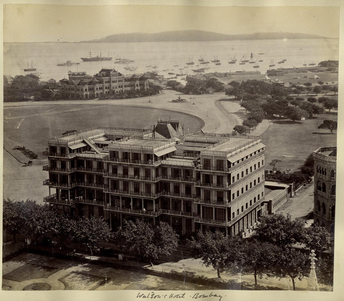 Watson's Hotel, Bombay (Mumbai) - c1880's