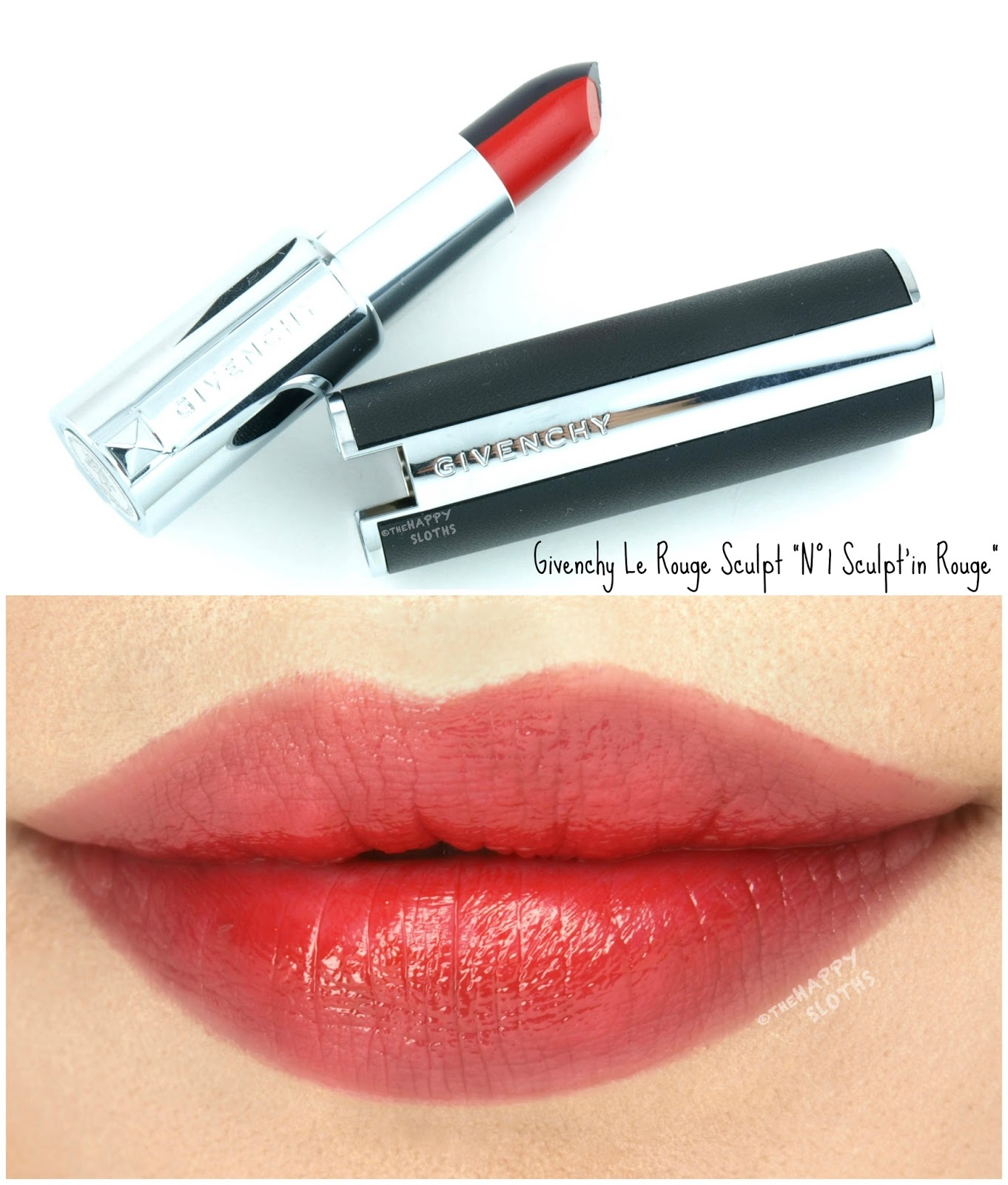 "Givenchy Fall 2017 | Le Rouge Sculpt in ""N°1 Sculpt'in Rouge"": Review and Swatches"