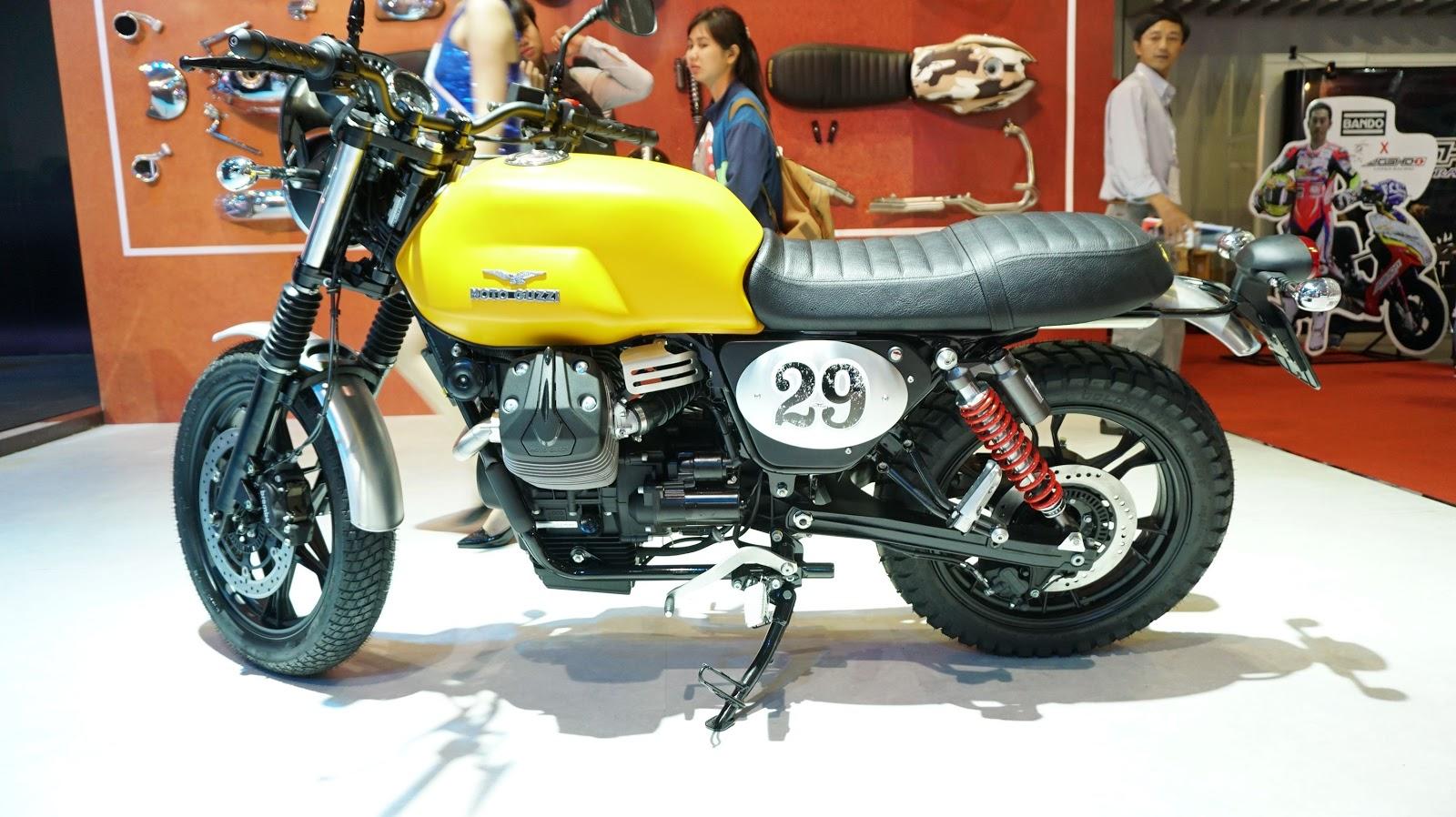 Moto Guzzi V7 II STORNELLO phải nói là một con xế quá đẹp, cảm giác chắc chắn, bền bỉ và tin tưởng