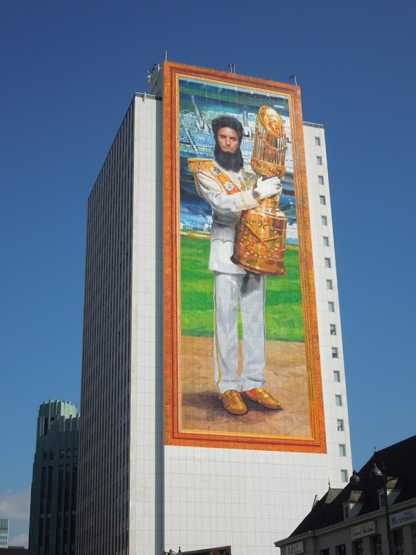 The Dictator giant teaser billboard