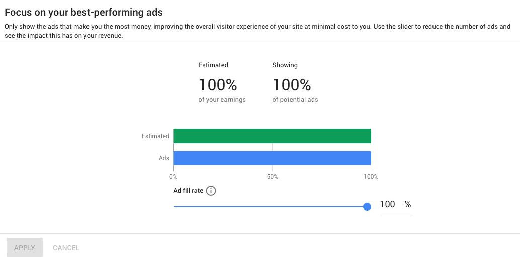 """Memahami Opsi """"Ad balance"""" AdSense Yang Baru"""