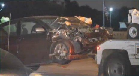 Highway 290 three car accident leads to arrest of driver's
