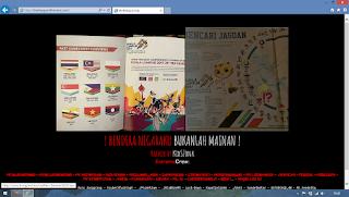 Tampilan Situs Malaysia yang Dideface oleh Hacker Indonesia