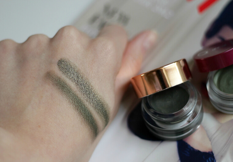 Oriflame The ONE Colour Impact Cream Eyeshadow recenzija review swatch