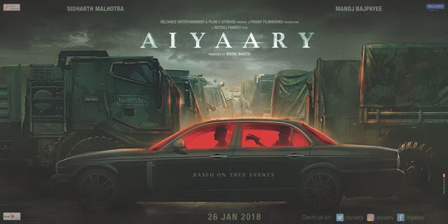 Aiyaary First Look Motion Poster