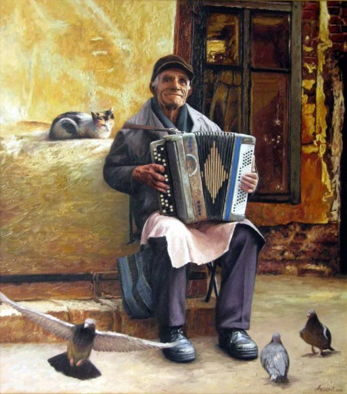 Портрет истории. Victor Arseni