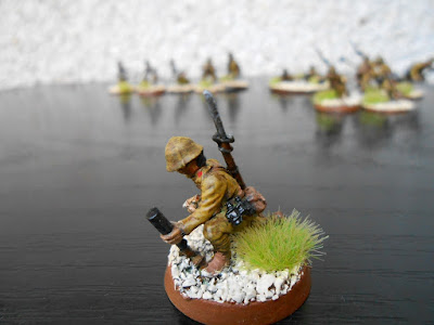 bolt action knee mortar japonés