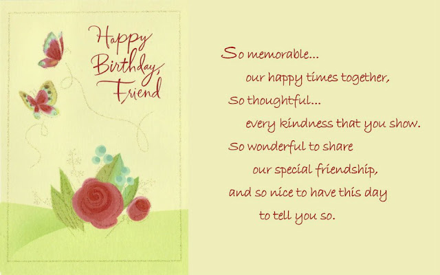 Happy Birthday Friend HD Wallpapers Free Download
