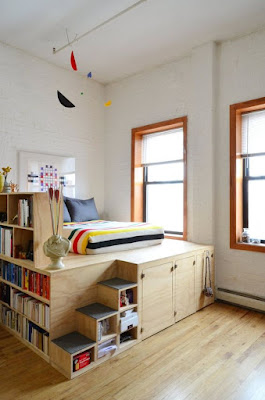desain kamar tidur dengan lemari