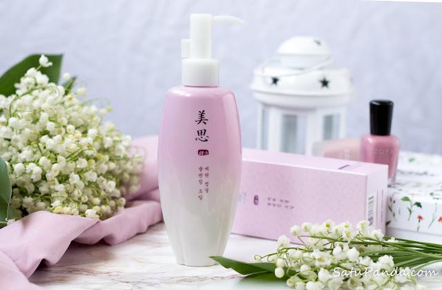 корейское гидрофильное масло для комбинированной кожи