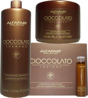 Otro shampo que te recomiendo es este de chocolate de la marca alfaparf a  mi gusto los dos hidratan el cabello te dan una apariencia mas saludable y  ... f5ee82f1527d