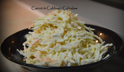 Carrot & cabbage Coleslaw