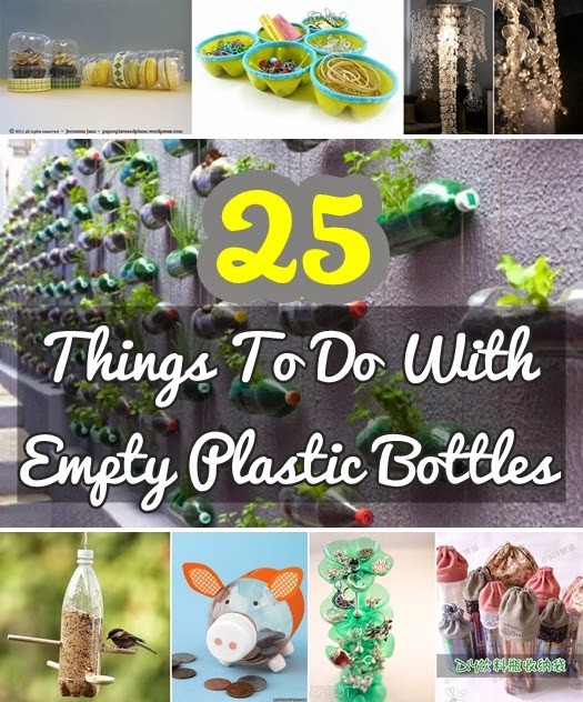 25 Creative Diy Things To Do With Empty Plastic Bottles