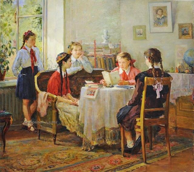 советские учебники русского