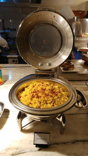 Nasi Sela (Ubi) - Thursday Bali Jimbaran di Orchid Restaurant Grand Mercure Hotel Medan